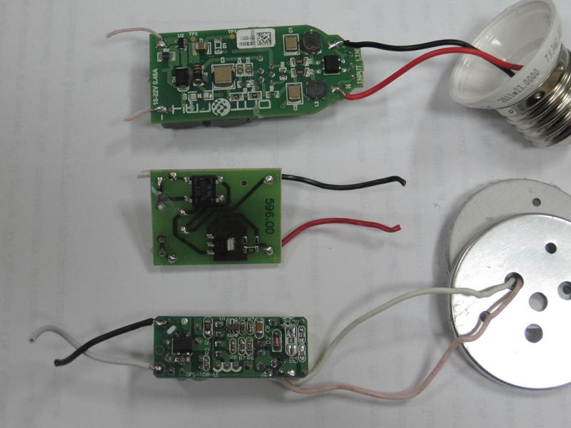 Светодиодная лампа с драйвером своими руками
