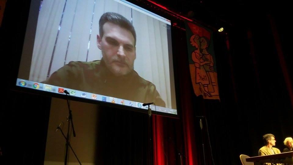 В Берлине овациями встретили выступление ополченца бригады «Призрак»
