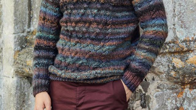 Как расширить готовое вязано…