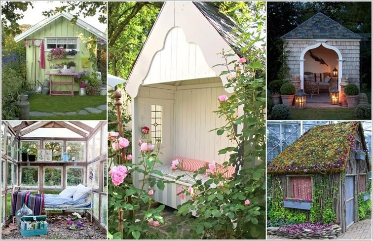 10 уютных дачных построек  беседка, дача, домик