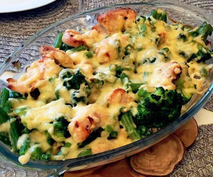 ПП-ужин — Куриное филе с брокколи под сыром
