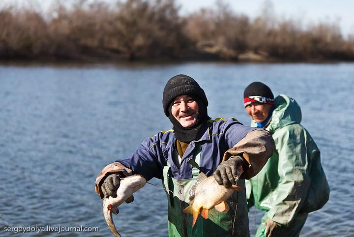 ловить рыбу на волге сетями