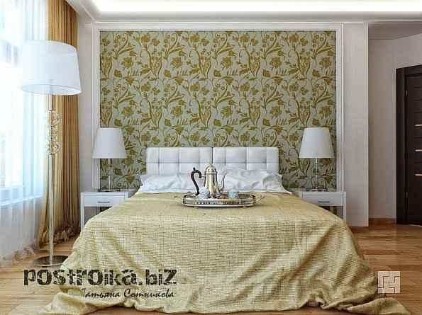 Интерьер спальни в классическом стиле: дорого и обходительно