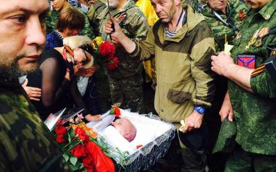 Алчевск, ЛНР. 27 мая. Похороны Мозгового