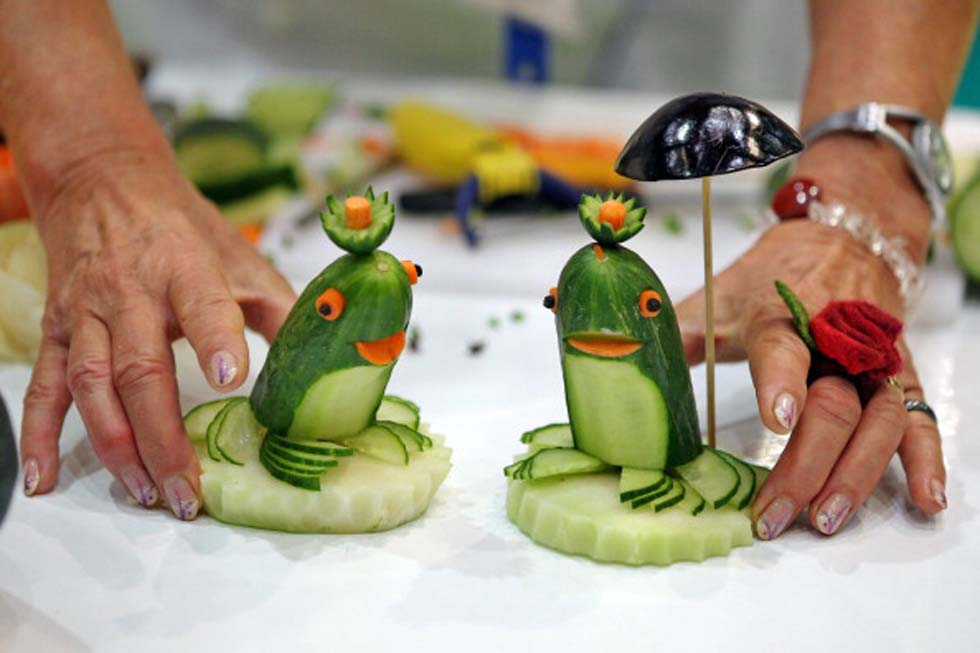 Изделия из овощей своими руками