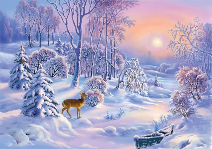 Прекрасная зимняя сказка Вик…