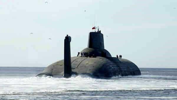 российская подводная лодка акула самая большая субмарина в мире