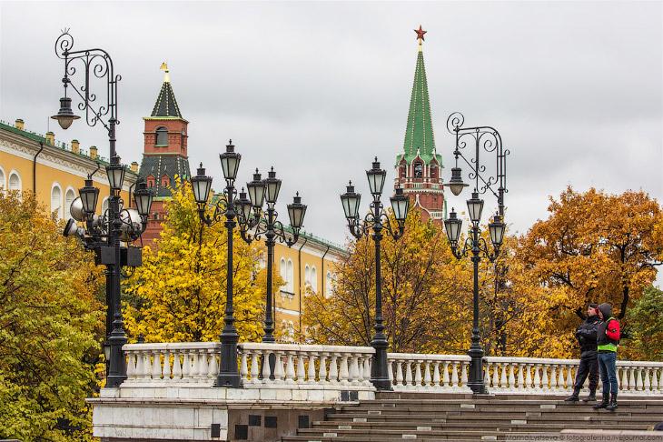 Осенний Кремль в фотографиях Марины Лысцевой