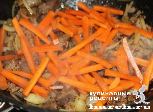 ragu is govyadini s kabachkami i baklaganami 08 Рагу из говядины с кабачками и баклажанами