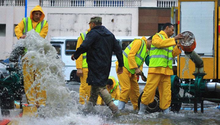 Наводнения в Египте: 11 чело…
