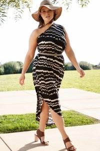 Летние платья для полных женщин: поиск модных компромиссов