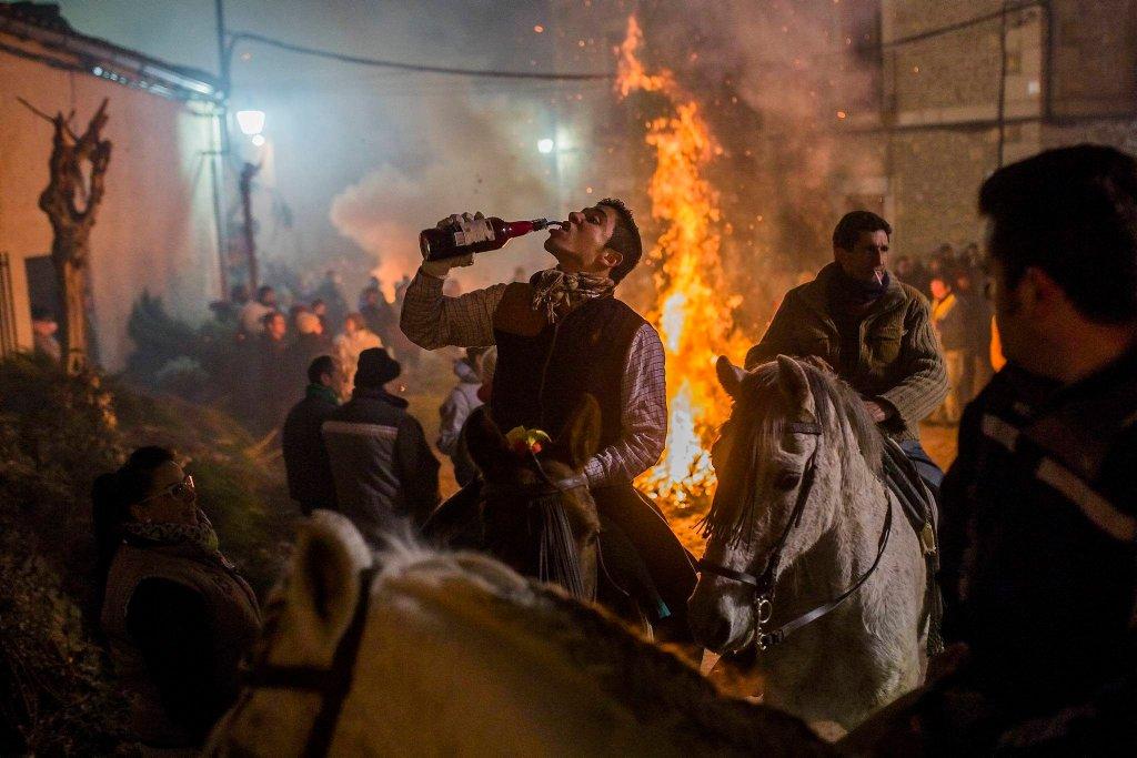 Luminarias - испанский фестиваль огня и животных-5