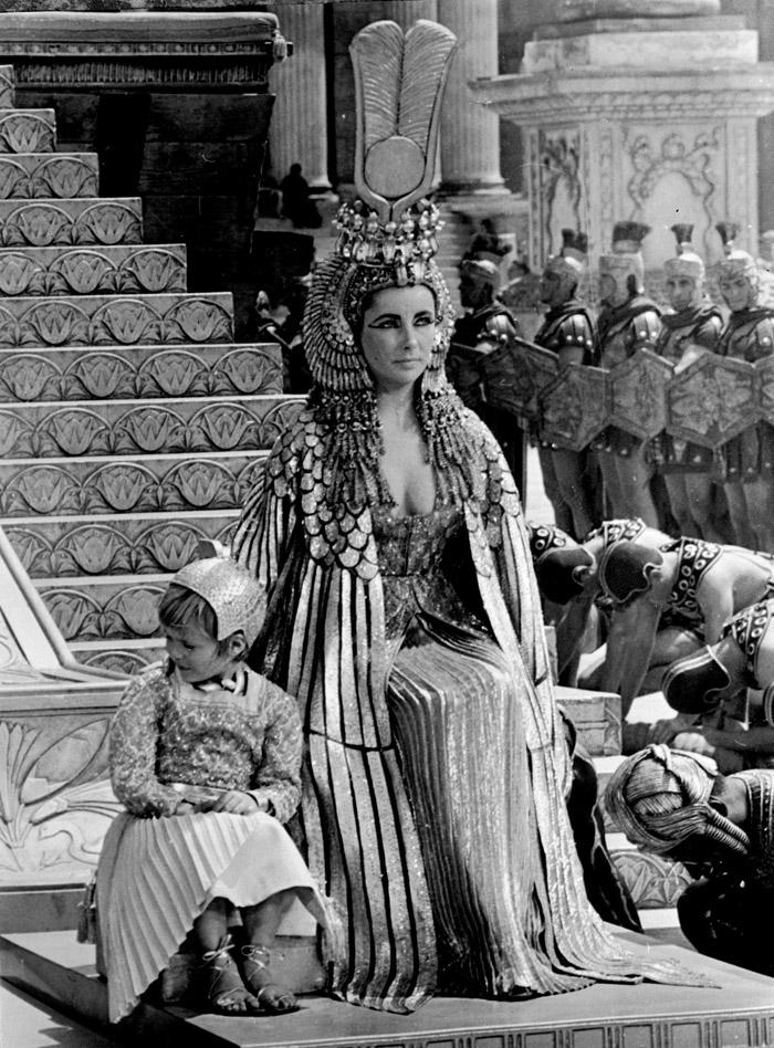 Элизабет Тейлор (Elizabeth Taylor) на съемках фильма «Клеопатра» (Cleopatra) (1963), фото 21