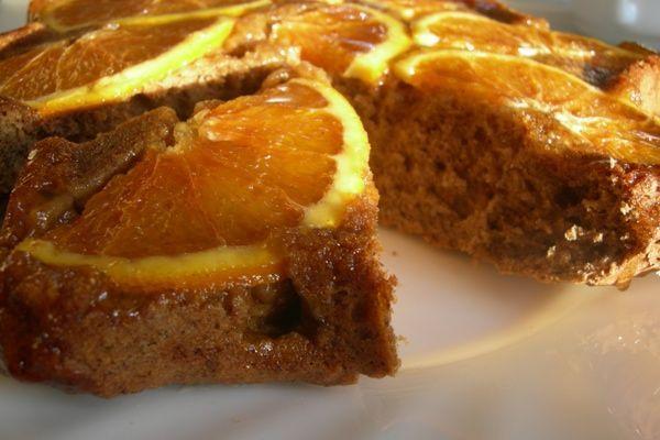 Ароматный кофейный пирог с апельсинами — потрясающий вкус