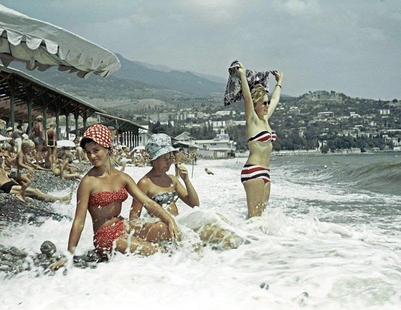 Пляжный отдых в СССР 70-80е годы