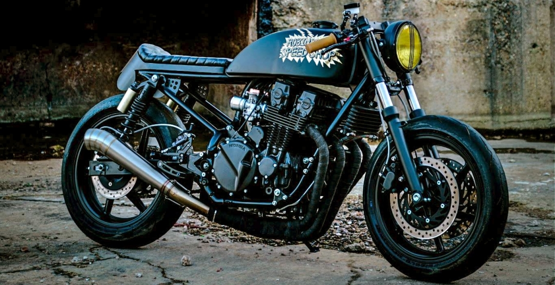 Фото Speed Shop of Leigh, Corpses from Hell, Honda CB750 Black