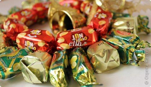 Мастер-класс Свит-дизайн Упаковка Новый год Разные сладкие работы Бумага Материал оберточный Проволока Продукты пищевые фото 26
