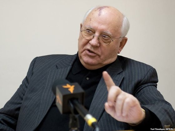 "Боготворимый США за ""перестройку""  Горбачев поддержал Путина и ""затоптал"" Запад"