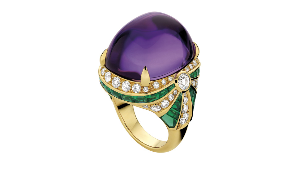 Bulgari High Jewellery ring in yellow gold with