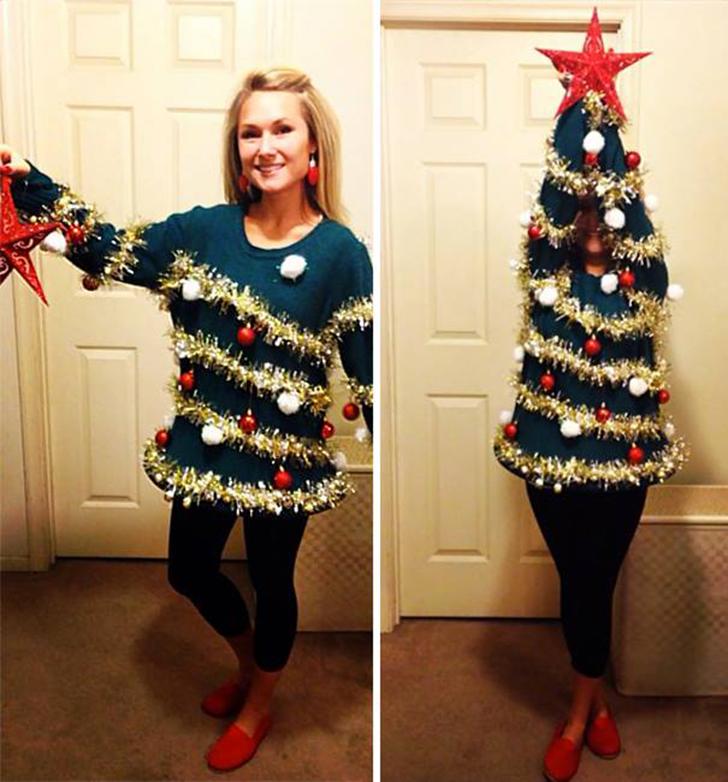 Рождественские свитера, которые вам захочется немедленно снять