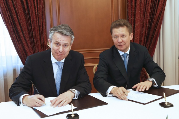 Газпром и Shell