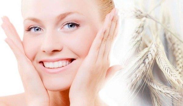Умывание овсянкой для улучшения цвета лица