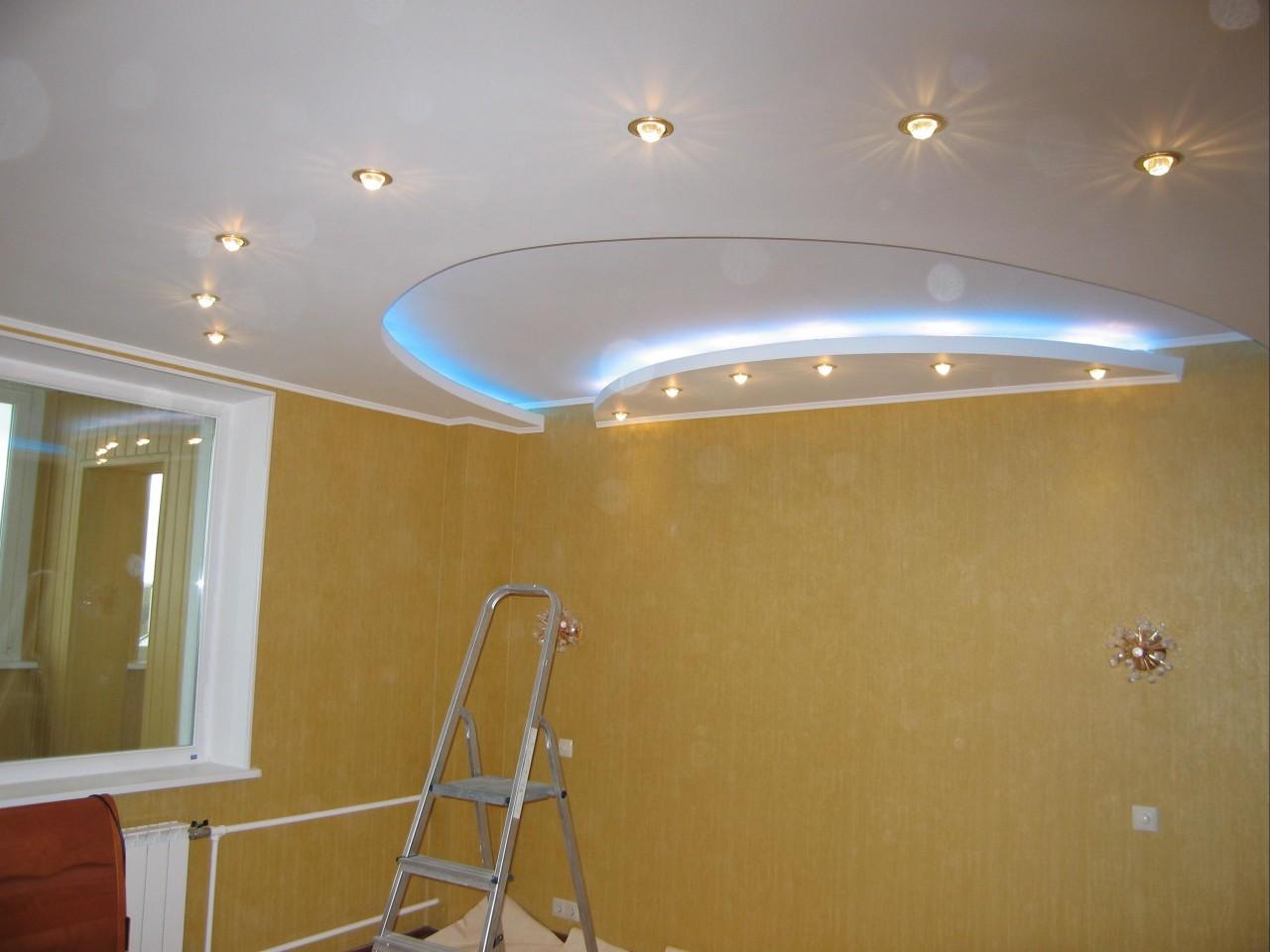 Дизайн низких потолков фото