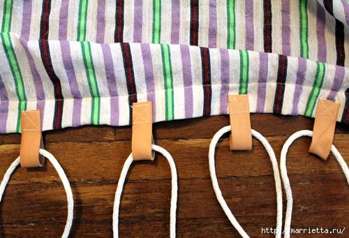Как сшить гамак своими руками в домашних условиях видео
