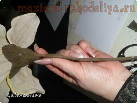 Лилии своими руками из кожи 55