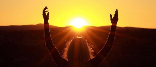 Солнечный ритуал бодрости