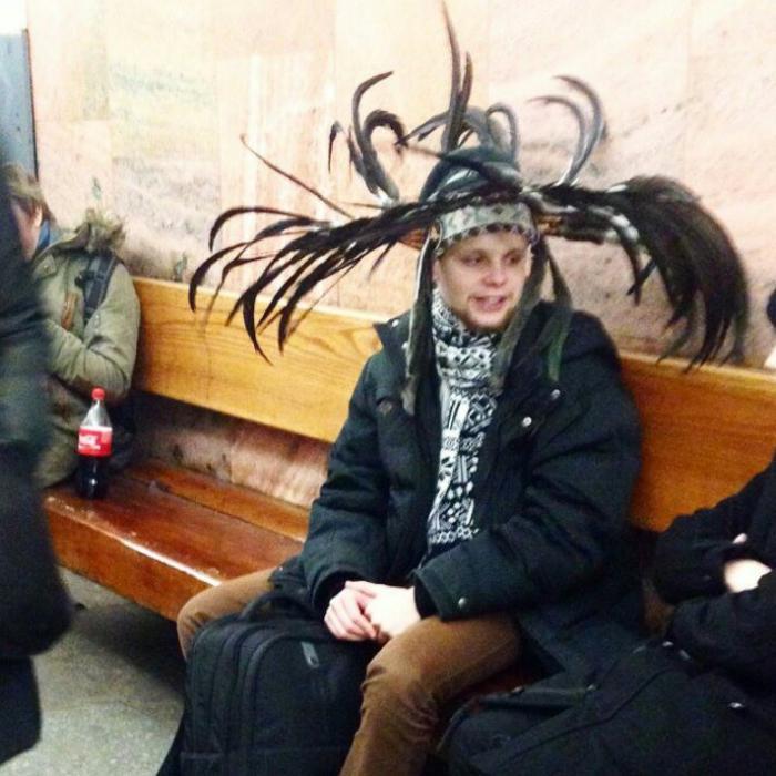 Модное обострение в метро