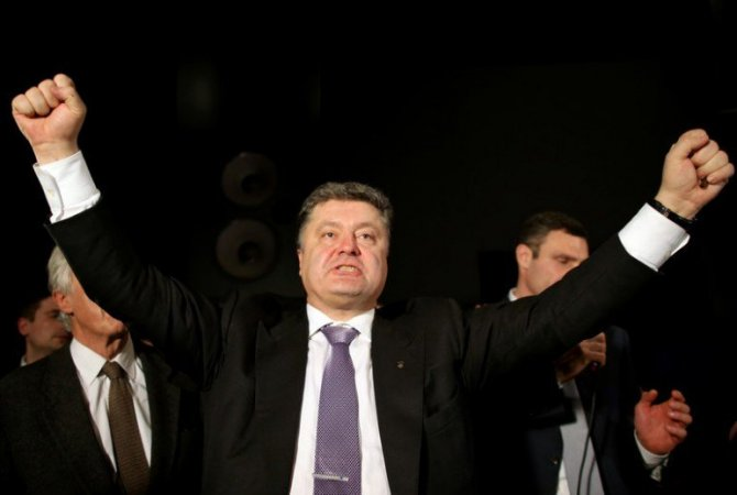 Радость Порошенко не знает границ