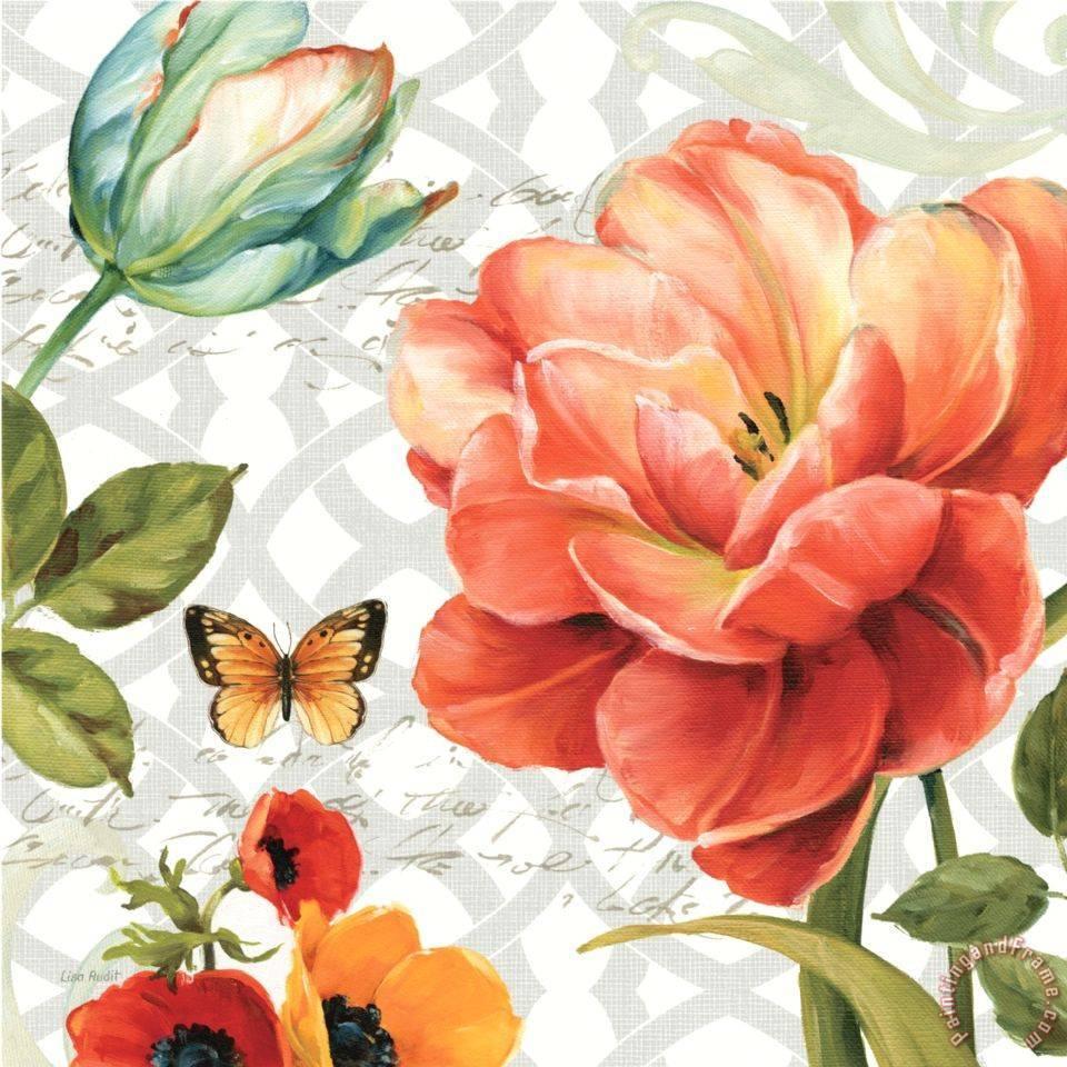 Винтажно-Цветочно-Декупажное