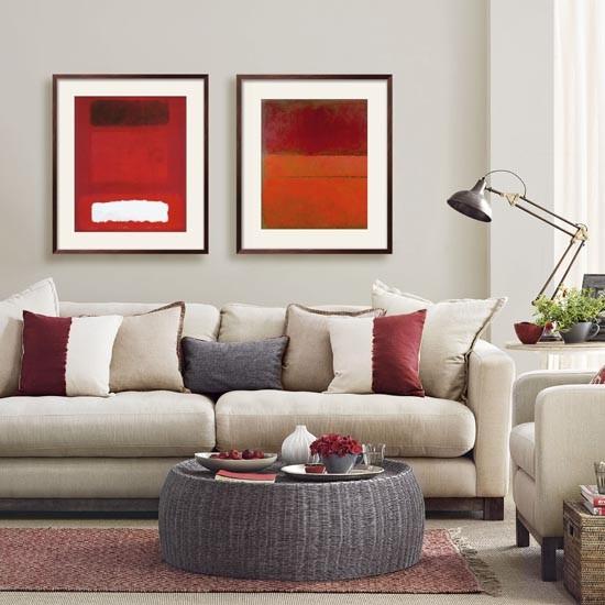 Магия цвета: 7 беспроигрышных цветовых акцентов для бежево-серой гостиной фото 6