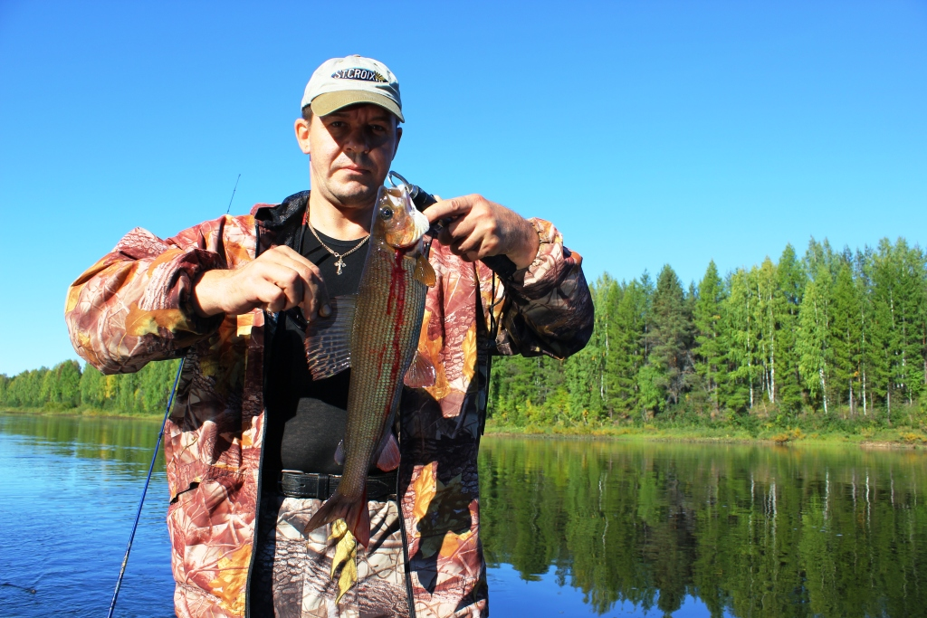 весенняя рыбалка на енисее