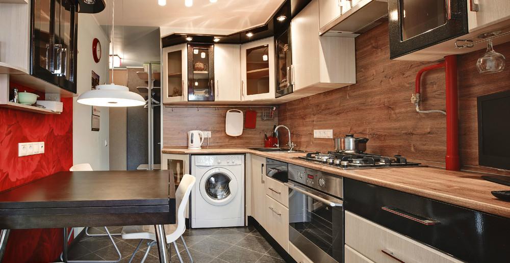 Дизайн кухни 8 кв. в квартире