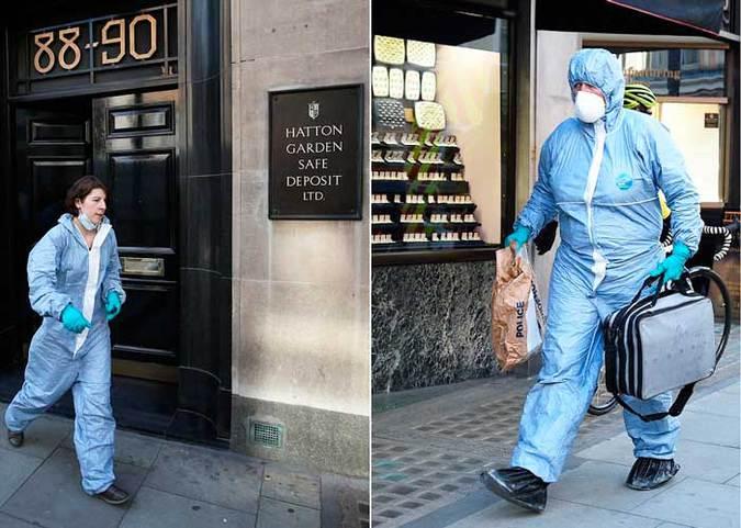 В Лондоне совершено «ограбление века»: похищено 200 миллионов фунтов