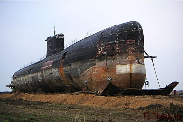 подводные лодки в севастополе где стоят