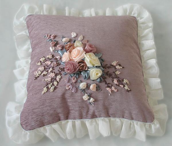Как сшить красивую наволочку на подушку 54