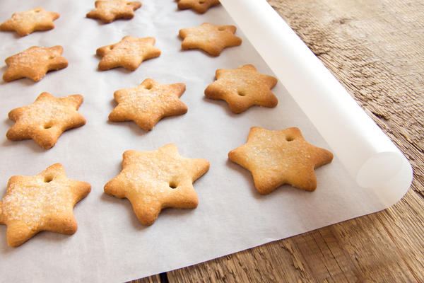 Печенье Рождественские звездочки