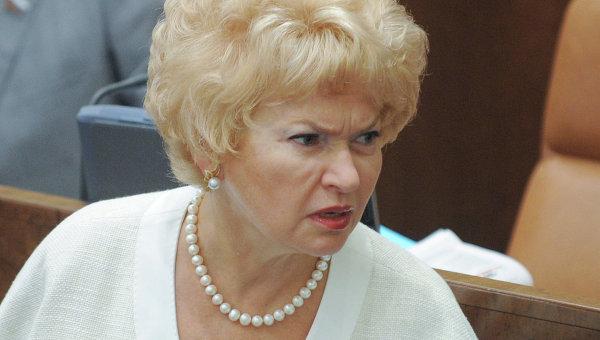 Людмила Нарусова (жена Собча…