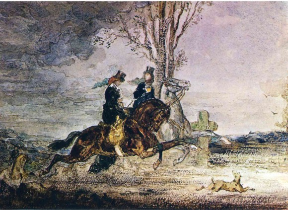 Два Современные Всадницы - Гюстав Моро