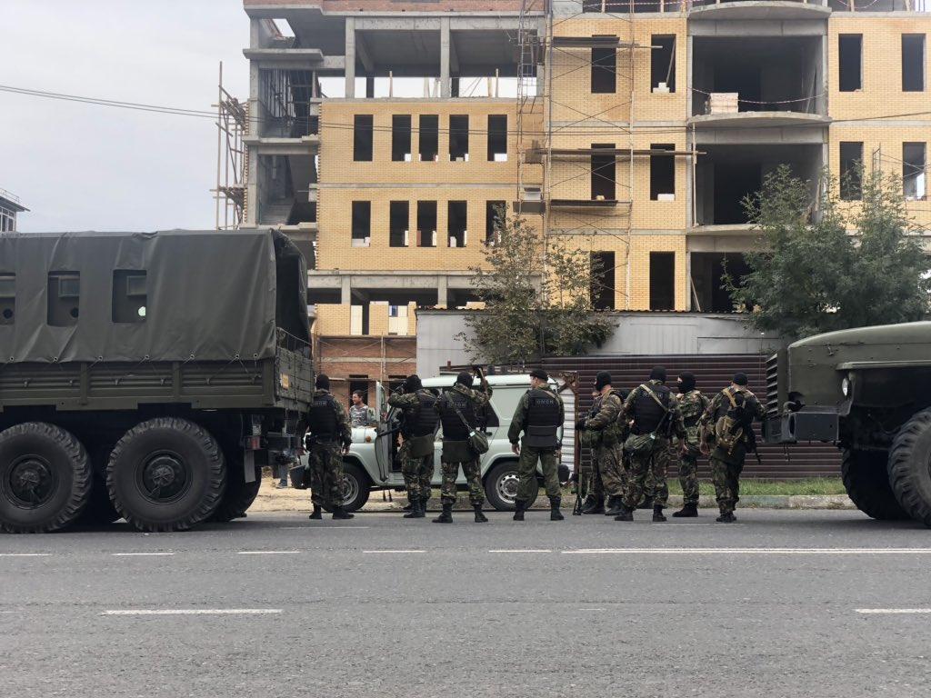 Что сейчас происходит в Ингушетии.