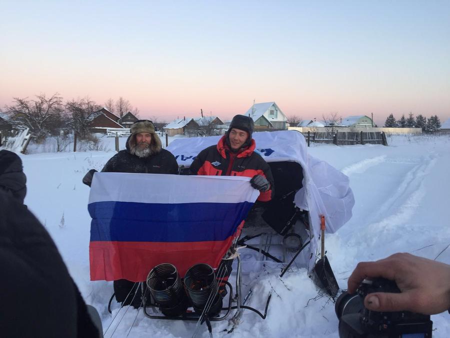 Фёдор Конюхов побил мировой рекорд по продолжительности полёта на воздушном шаре