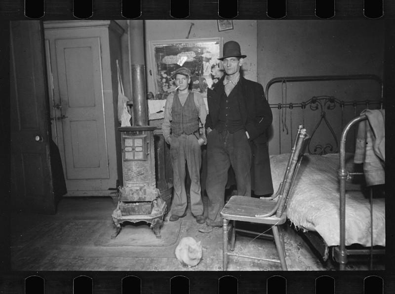 20 честных фотографий о Великой депрессии в Америке