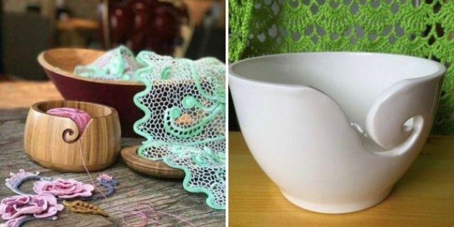 Что подарить маме на Новый год: Чаша для вязания
