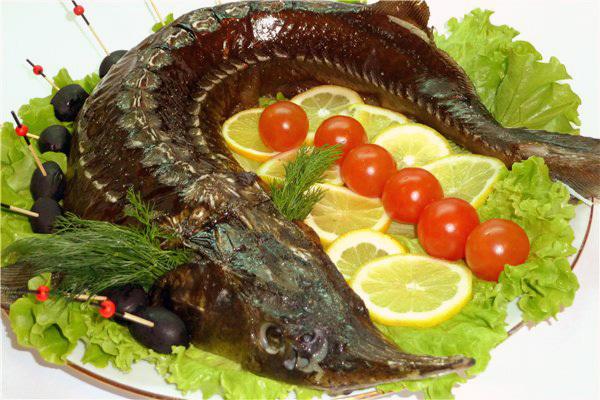 Рыба «царская»