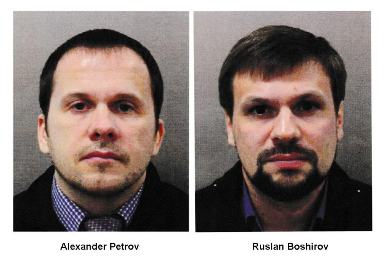 Уже без парашютов: Скотленд-Ярд опубликовал снимки подозреваемых в покушении на Скрипалей россиян