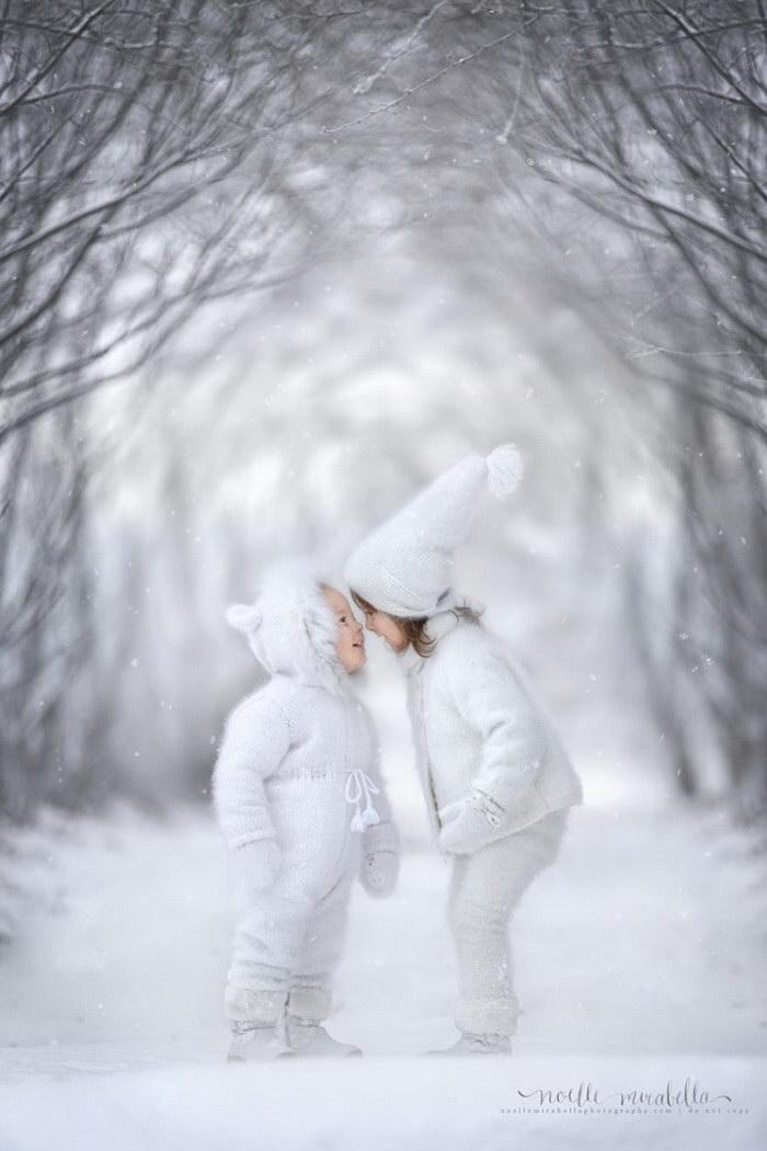 Очень милые и нежные фотографии детей от Noelle Mirabella