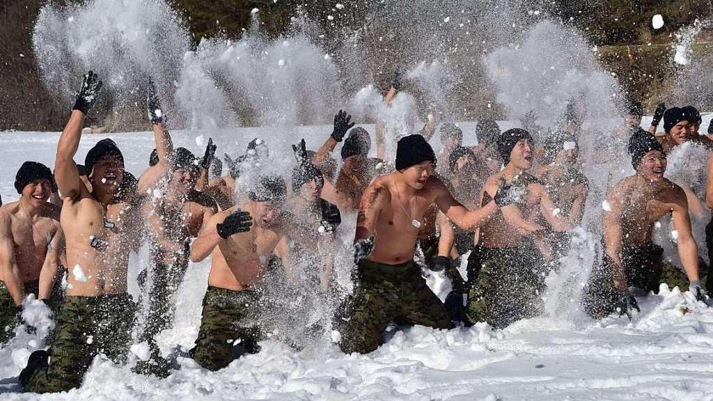 Зимние учения южнокорейского спецназа-4